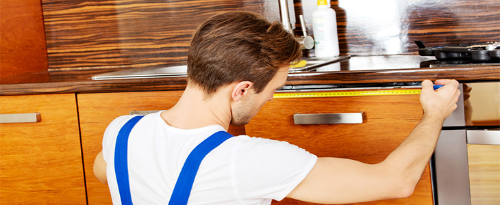 What to remember when measuring your worktops