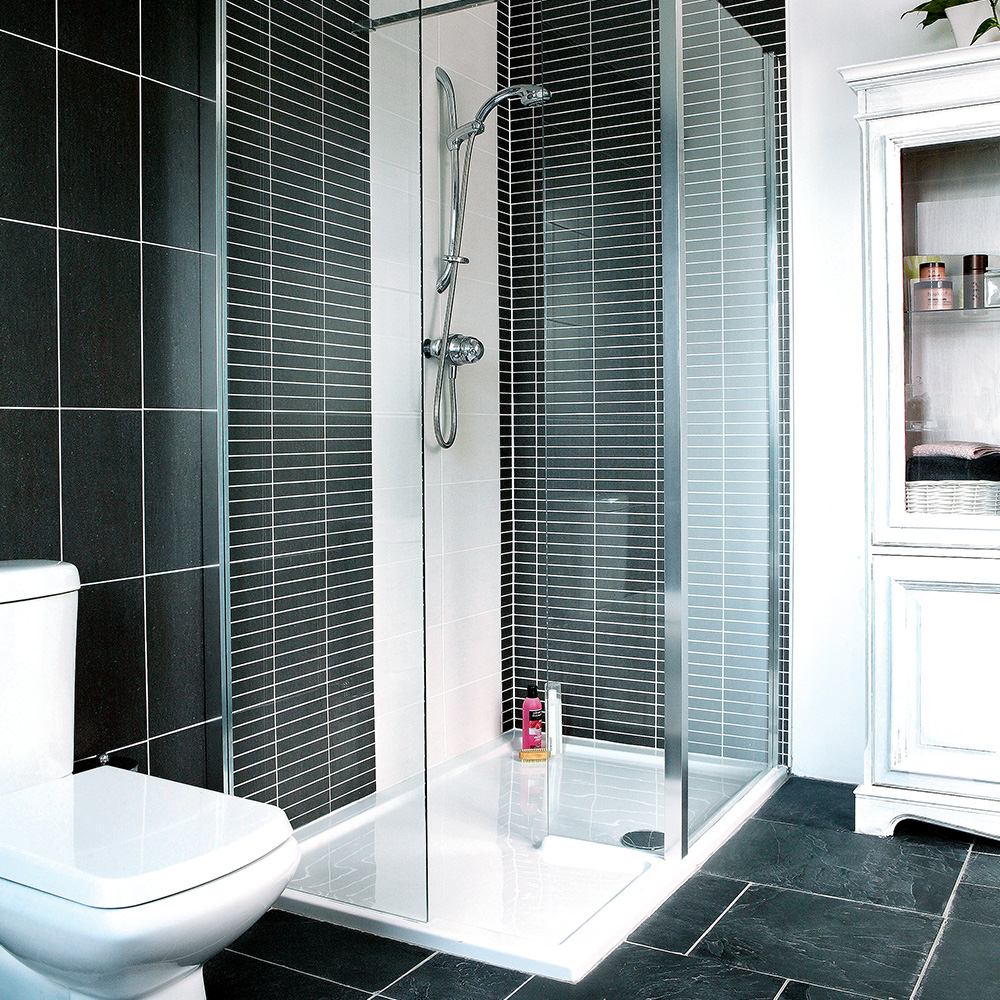 Black Tile Shower Room Shower Rooms Jamie Mason City