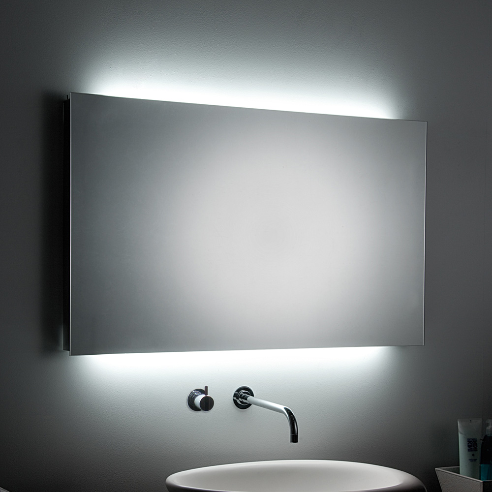 Terrific Ultra Modern Bathroom Mirrors Pics Decoration