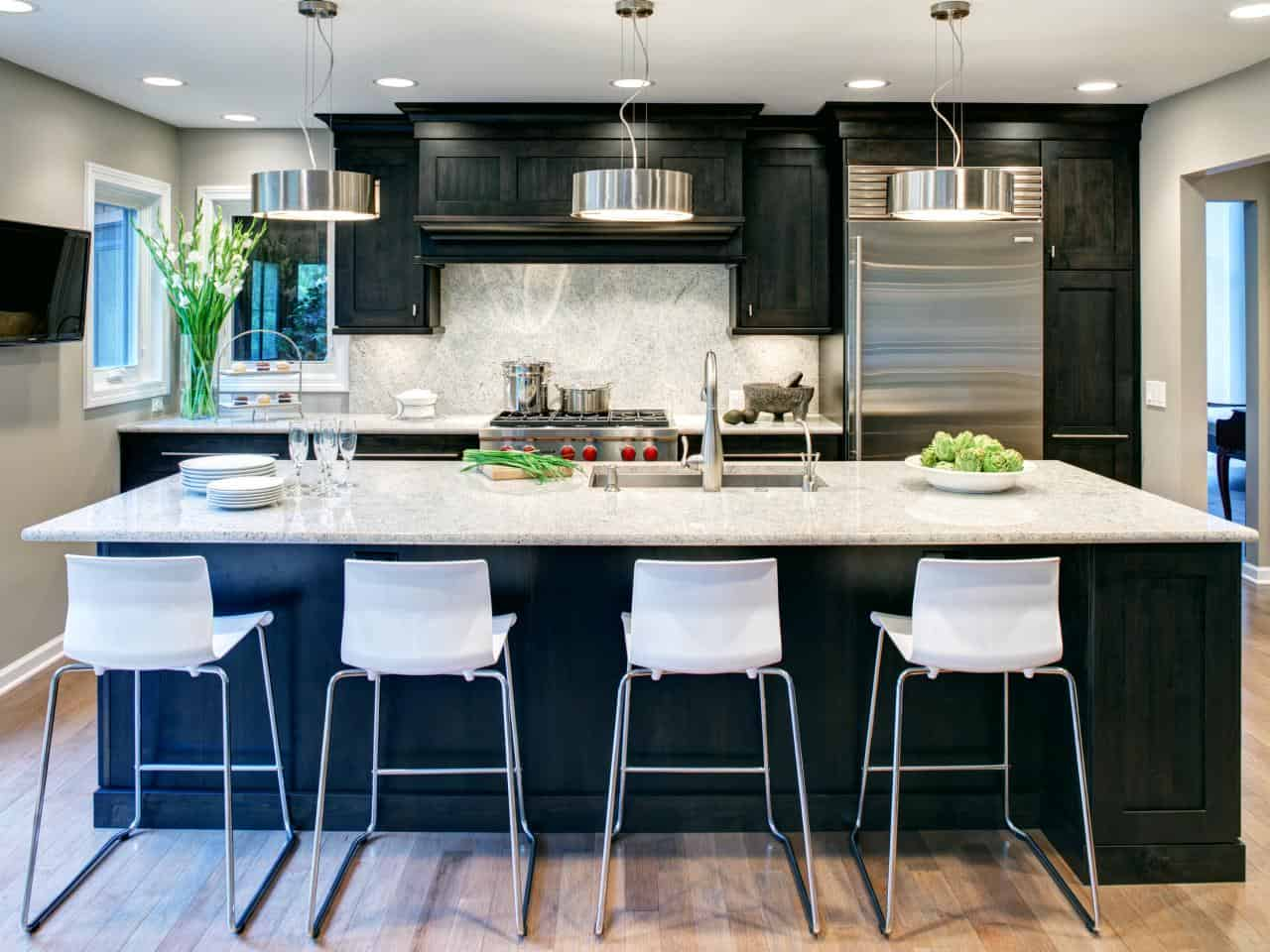 chic trendy kitchen island upgrades that instantly refresh the room