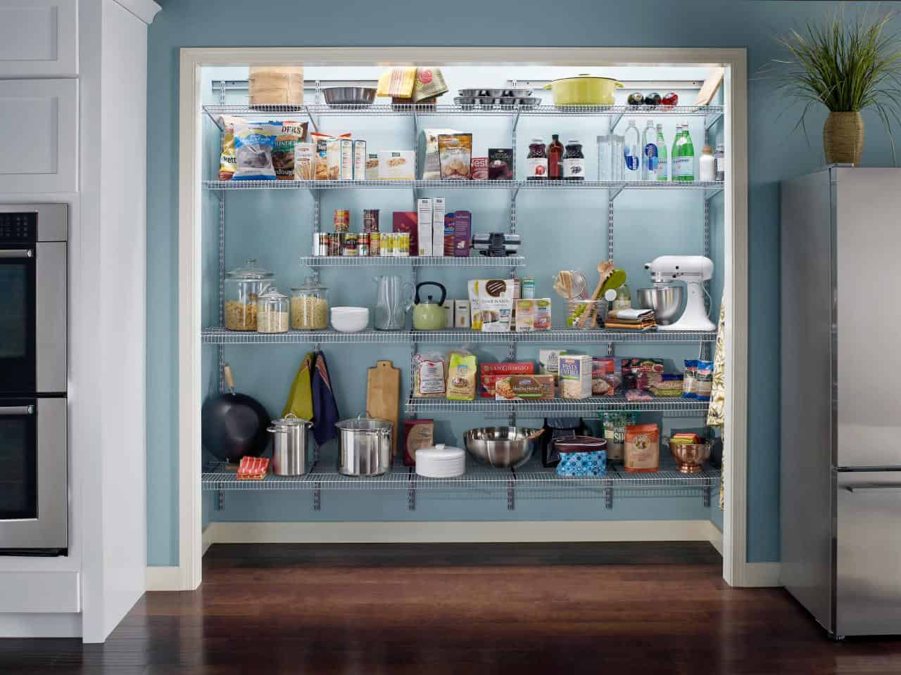 pantry door ideas to make your kitchen come to life